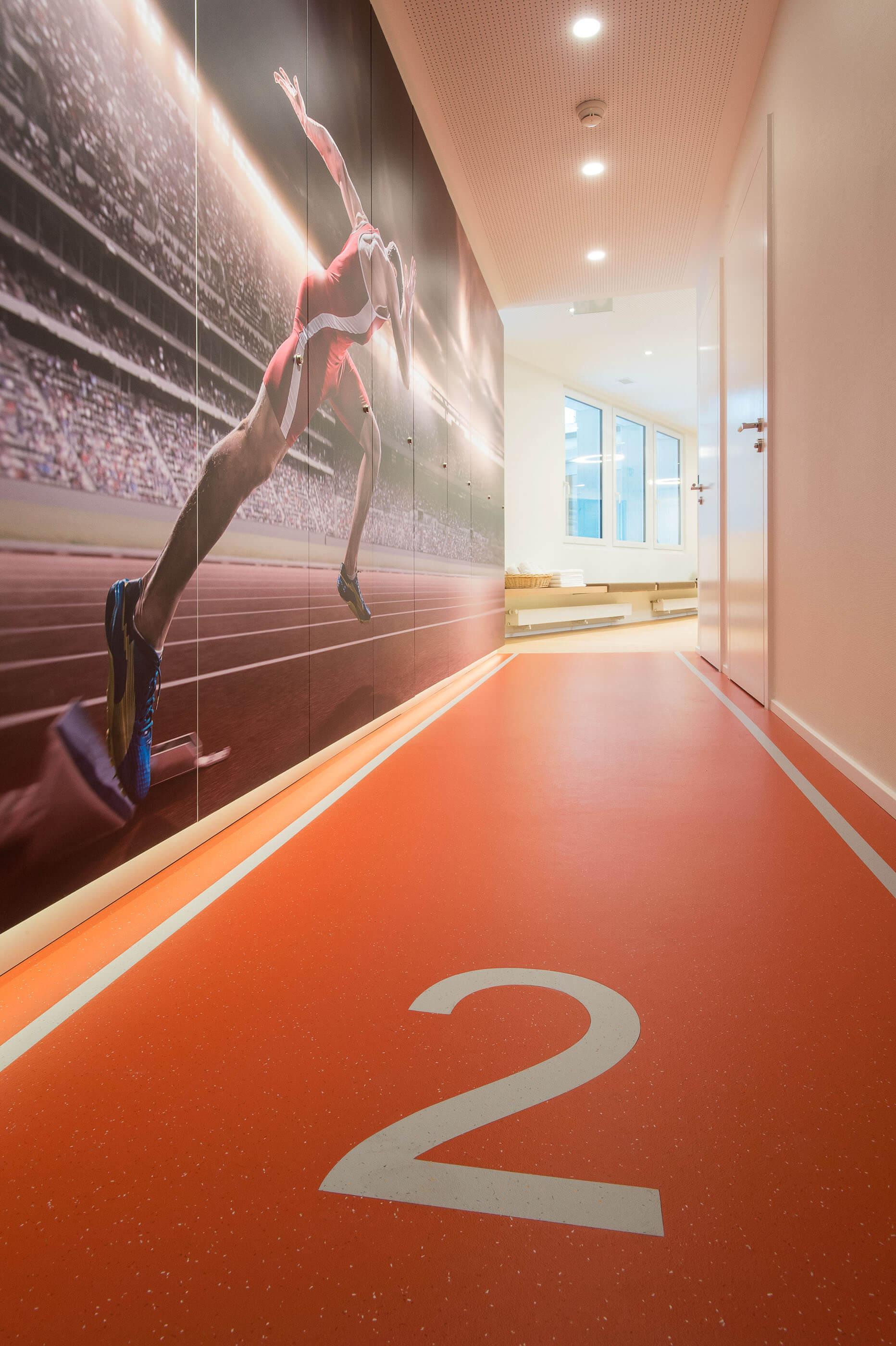 Salle de SportHôtel de La Paix à Lausanne