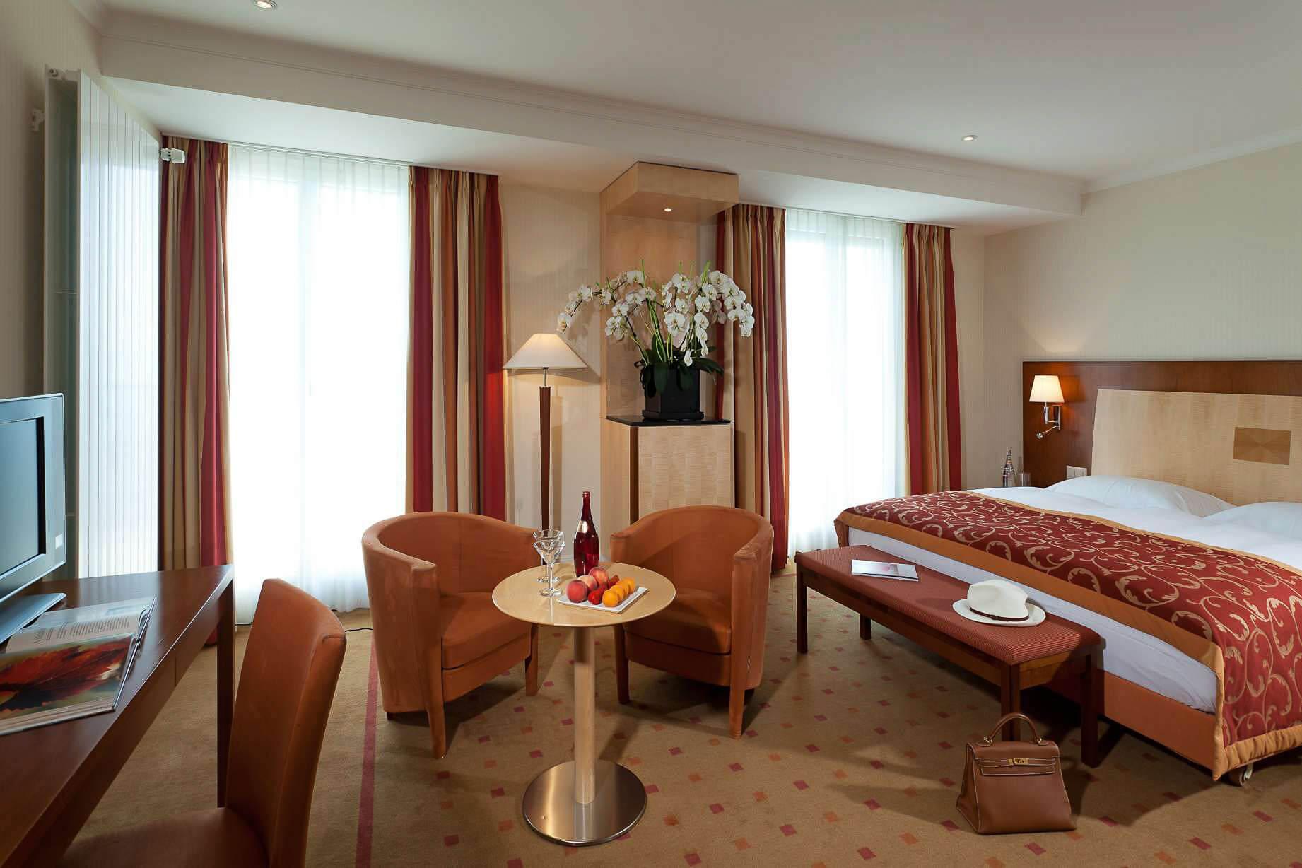 Séjour d'Exception à Lausanne à l'Hôtel de la Paix · Chambre Deluxe