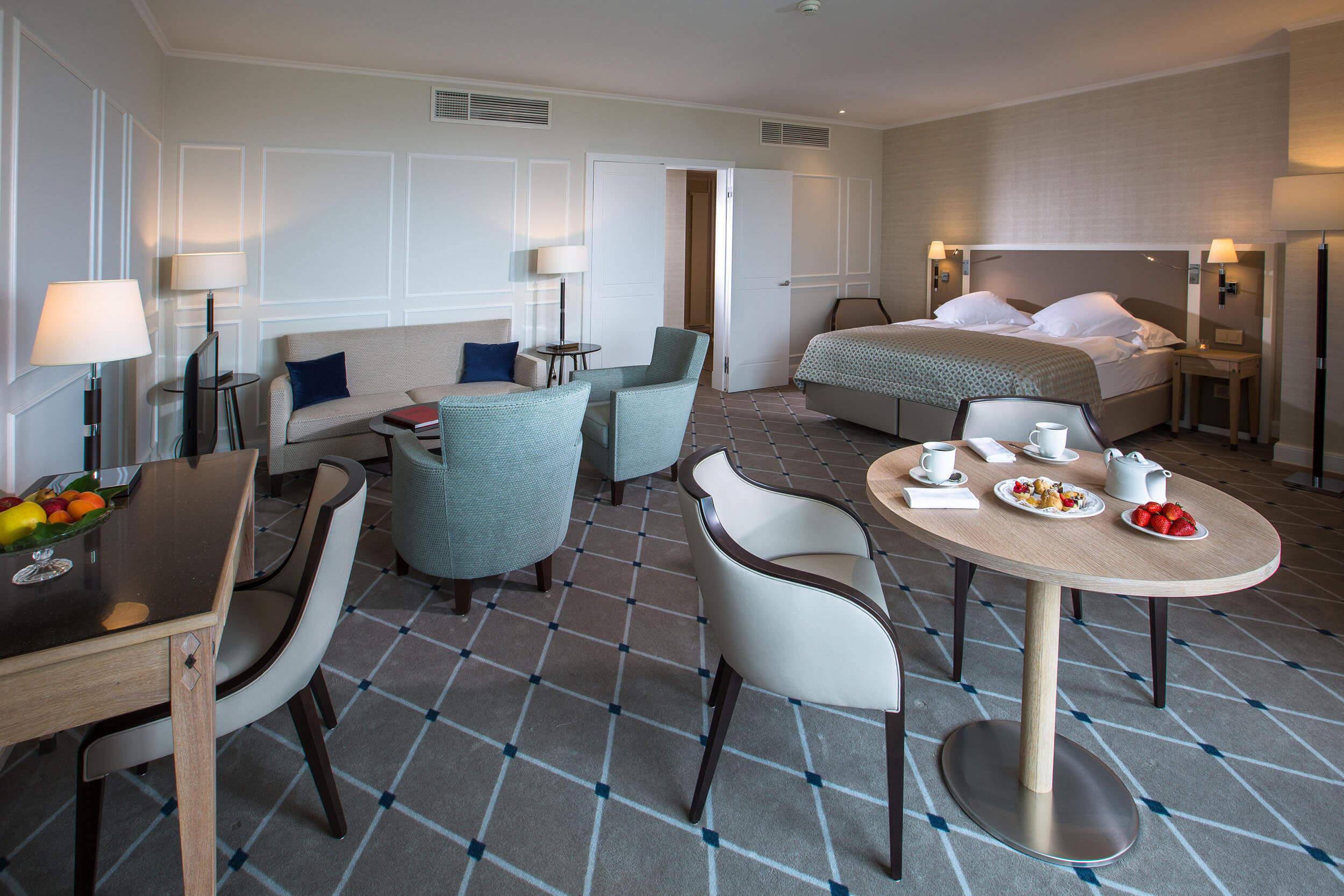 Suites de Luxe à Lausanne à l'Hôtel de la Paix Hôtel 4 étoiles en Suisse