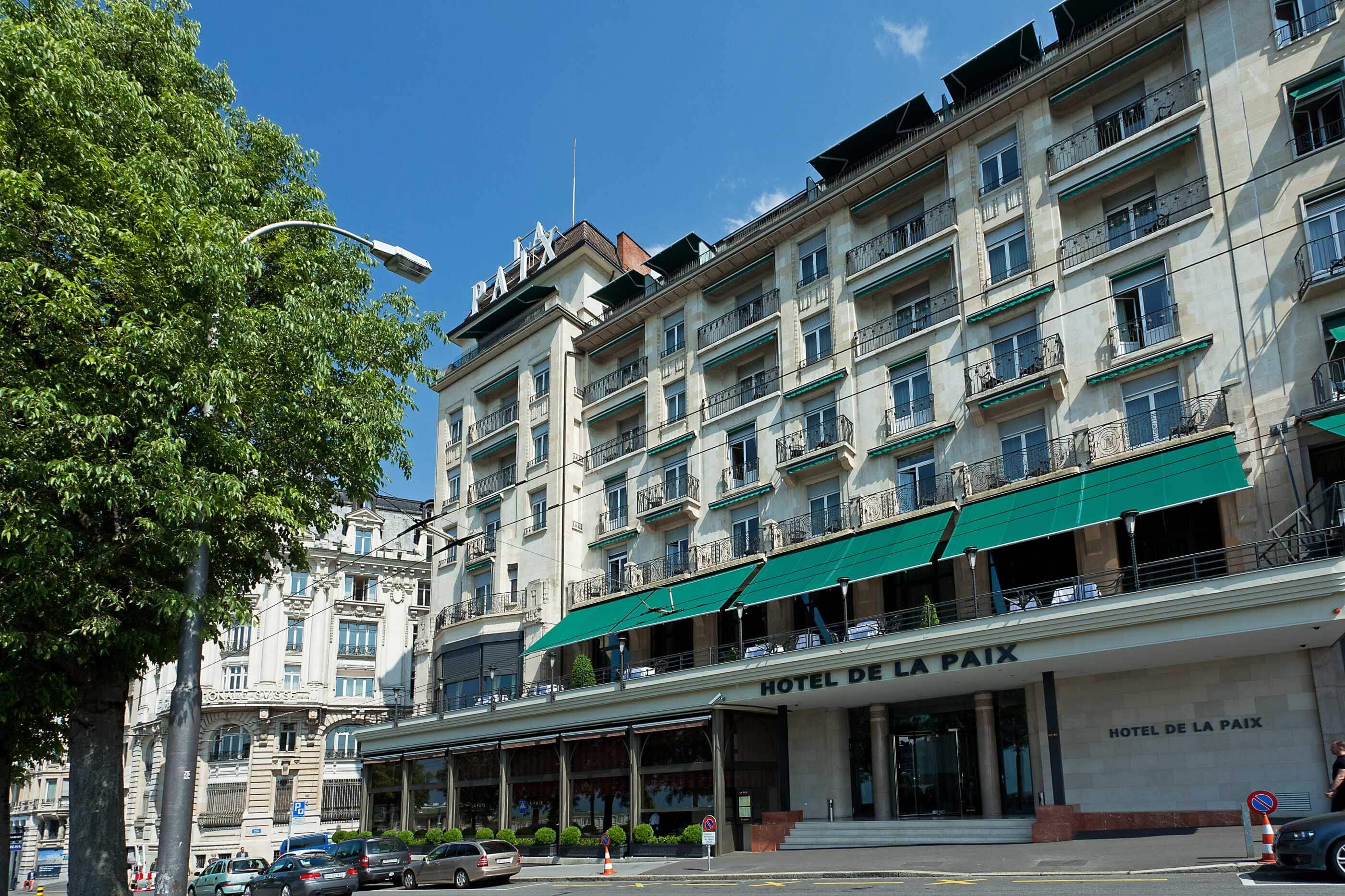 Hotel and restaurant in Lausanne Hôtel de la Paix
