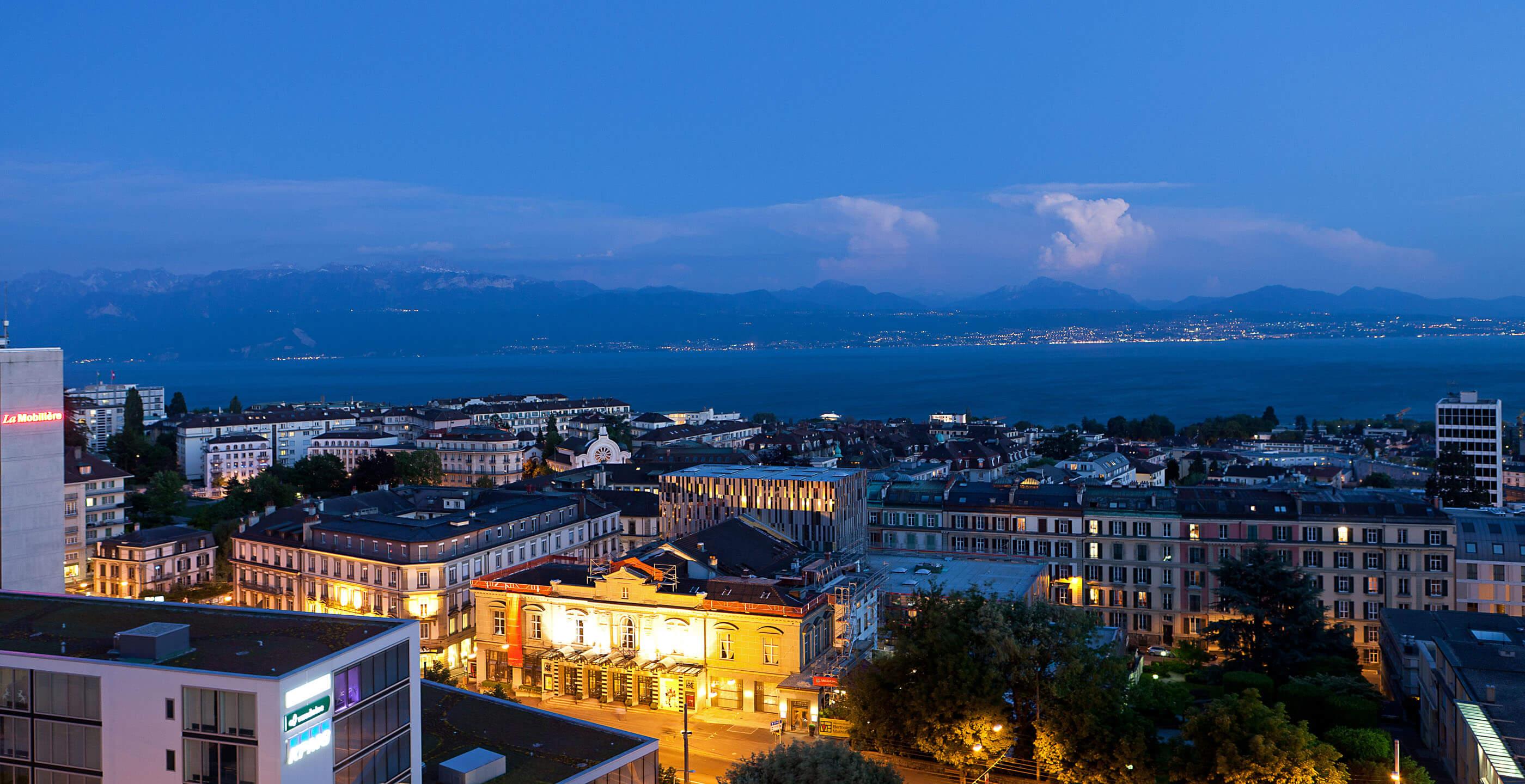 Cocktails à Lausanne à l'Hôtel de La Paix