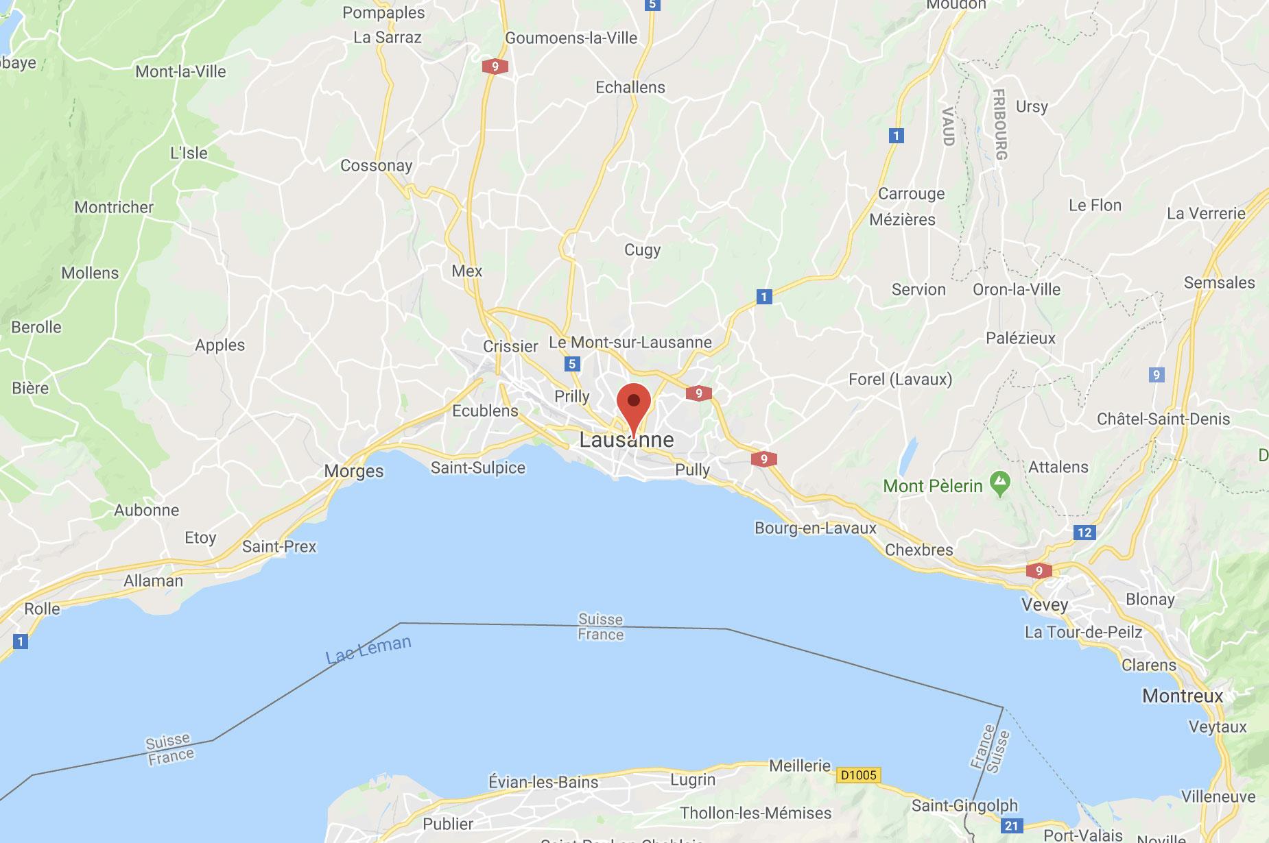 Carte de Lausanne accès à l'Hôtel de La Paix 4 étoiles